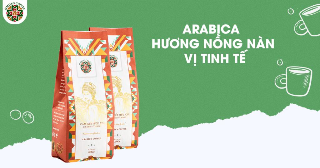Đặc trưng của cà phê Arabica