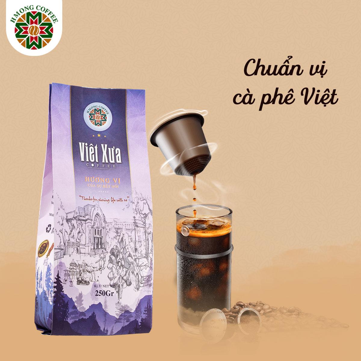 Thưởng thức ly cà phê hoài niệm xưa