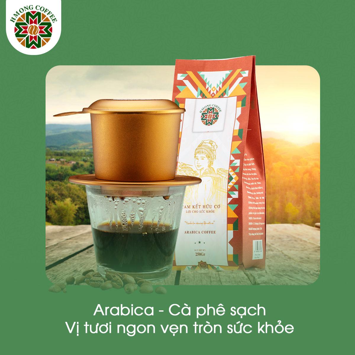 Cà phê Arabica - mang đến nhiều giá trị cho sức khỏe