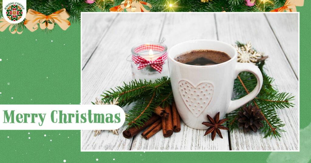 Trải nghiệm thú vị với việc tự tay pha cho mình 1 ly cà phê ấm áp cho Giáng Sinh năm nay