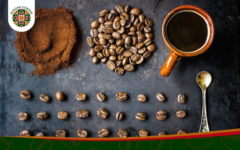 Cà phê Robusta mạnh mẽ, đầy sức sống