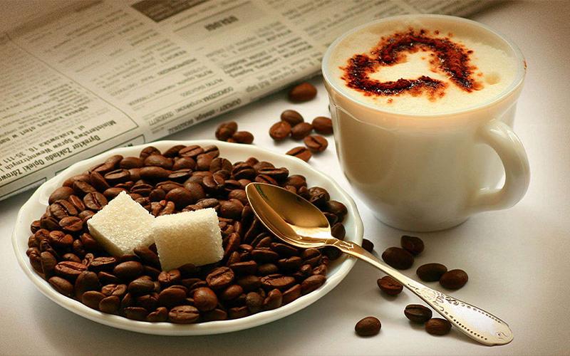 Cafe rang xay nguyên chất đậm đà