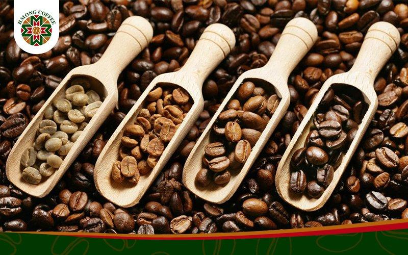 Cafe rang xay nguyên chất thơm ngon